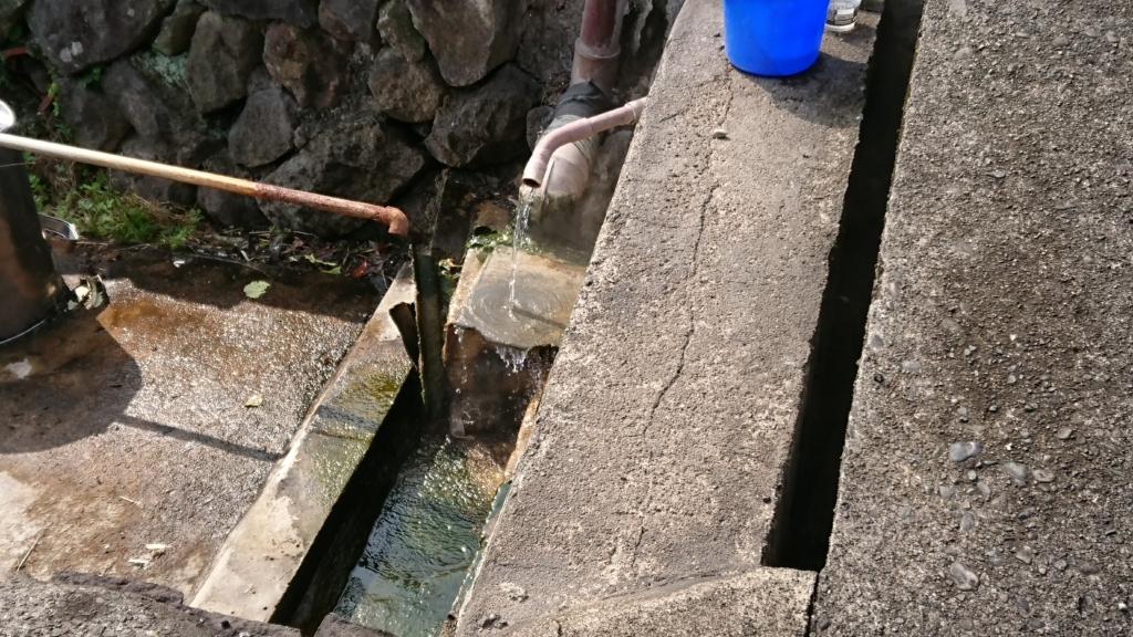 大分県別府市内にある源泉の1つ