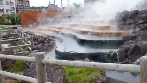 九州地方【長崎県】の温泉旅行! 雲仙市で出会った白と塩の名湯