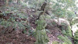 文殊仙寺仁王像の吽形