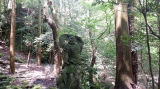 文殊仙寺仁王像の阿形