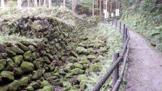 【熊野磨崖仏】遊歩道の光景