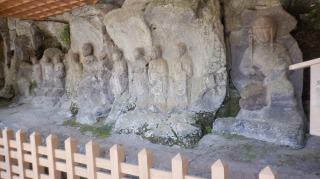 ホキ石仏第二群の手前全景