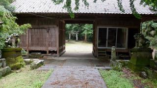 一ノ宮八幡社の入口
