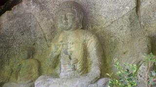 【大分県臼杵石仏訪問その3】【日吉神社】と優しい顔の【山王山石仏】