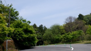 文殊仙寺駐車場付近