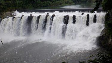 大分県の観光スポット【沈堕の滝】! 迫力のある名瀑を訪問