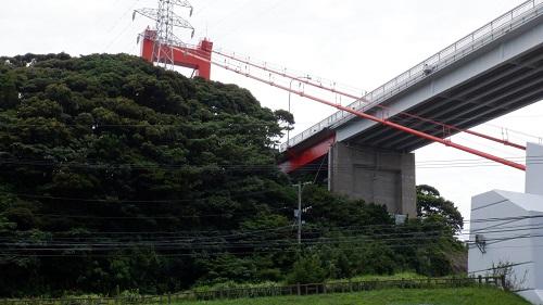 平戸公園から見た平戸大橋