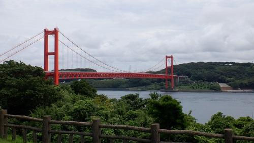 平戸大橋と海の光景