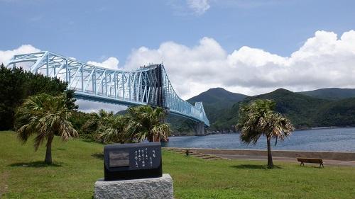 工事中の生月大橋