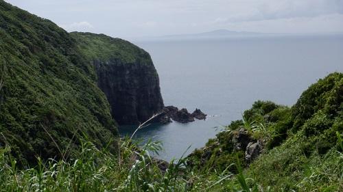 生月島から見た海の光景