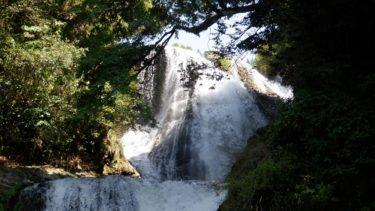 大分県の観光スポット【慈恩の滝】! 道の駅もある大瀑布