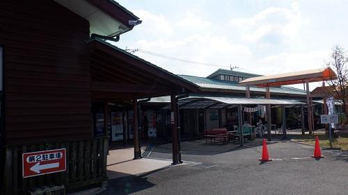 道の駅すえよし駐車場からの光景