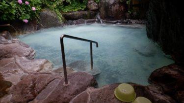 【しらはなシンフォニー】の泉質を体感!飲泉もできる硫黄泉
