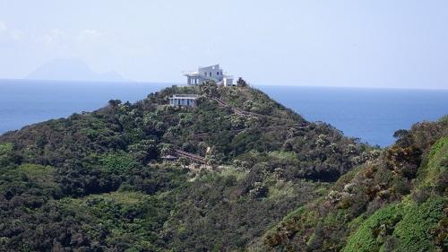 佐多岬展望台の遠景