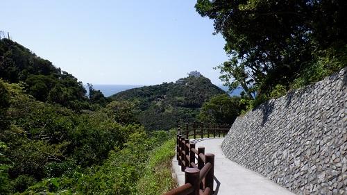 佐多岬遊歩道から見た周辺光景