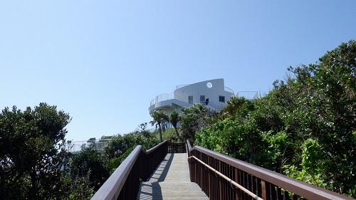 佐多岬展望台と遊歩道