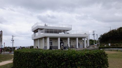 角島公園内にある建物