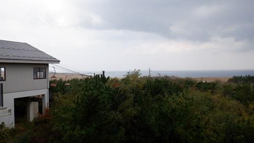 鳥取砂丘へ続くリフト