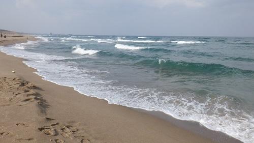 広がる海と海岸