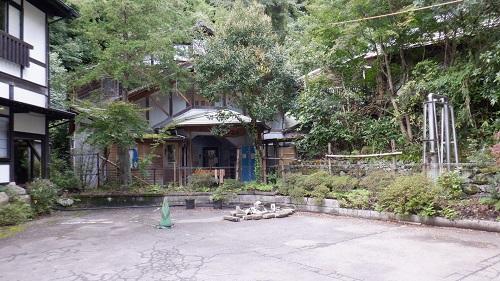 筌ノ口温泉新清館隣の共同浴場