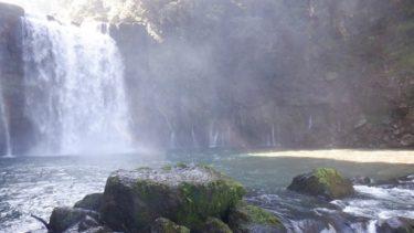 鹿児島県の【神川大滝】にぶらりと立ち寄り! 予想以上の水量に驚愕