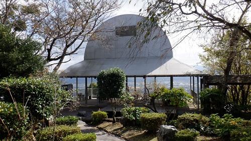 香山昇龍大観音の周辺が見渡せる展望台