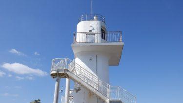 予想以上の高さがある【大バエ灯台】!遊歩道は自然を満喫