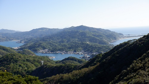 権現山展望台から見た周辺の光景
