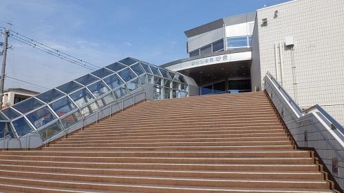 砂むし会館 砂楽入口への階段