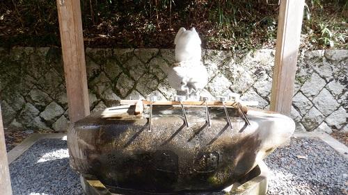 白兎神社の手水舎