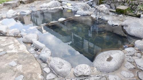 三朝温泉の河原風呂