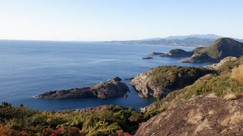 展望台から見たクルスの海