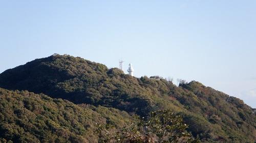 クルスの海から見える細島灯台