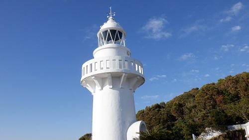 近距離からの細島灯台