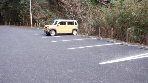 福貴野の滝展望台駐車場