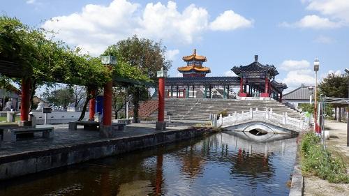 孔子公園入口からの全景