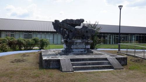 孔子公園内にある像の1つ