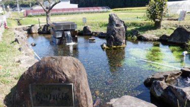 前川水源がある公園