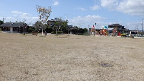 三連水車の里あさくら内の公園