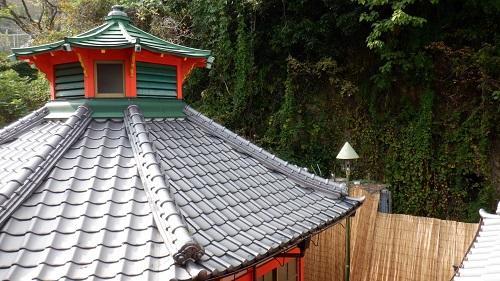 武雄温泉かつての浴室の外観