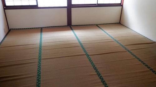 武雄温泉新館内の休憩所