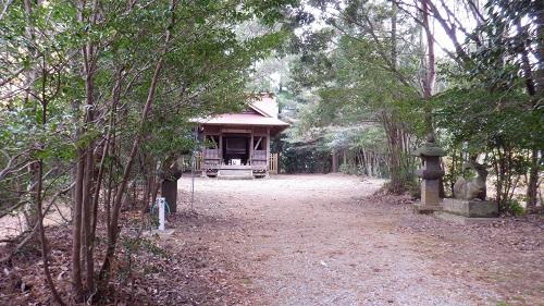 鉾神社の拝殿