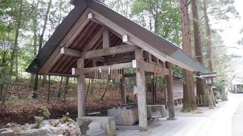 天岩戸神社の手水舎