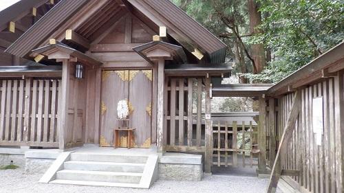 天岩戸神社の岩戸を参拝する入口