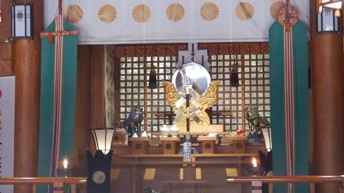 天岩戸神社に祀られている鏡