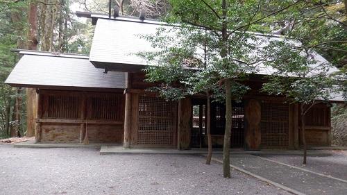 天岩戸神社東本宮の拝殿