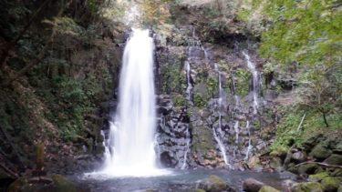熊本県にある白糸の滝
