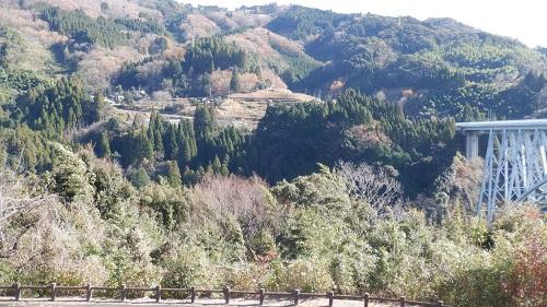 青雲橋周辺の景色