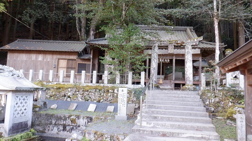 畑冷泉が湧く水神社