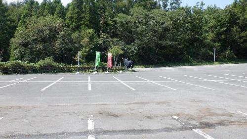 べべんこ駐車場の光景